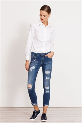 MODAİLGİ DENIM PANTOLON STONE WASH